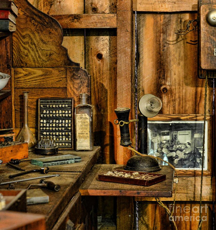 Paul Ward Photograph - The Dentist Office by Paul Ward
