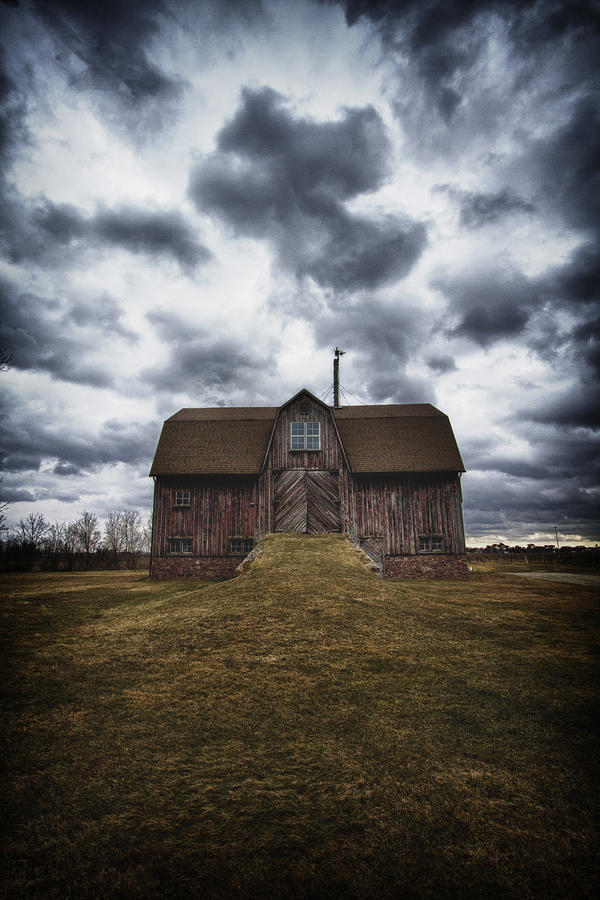 Barn Photograph - The Devil In Me Said Go Down To The Shed.... by Russell Styles