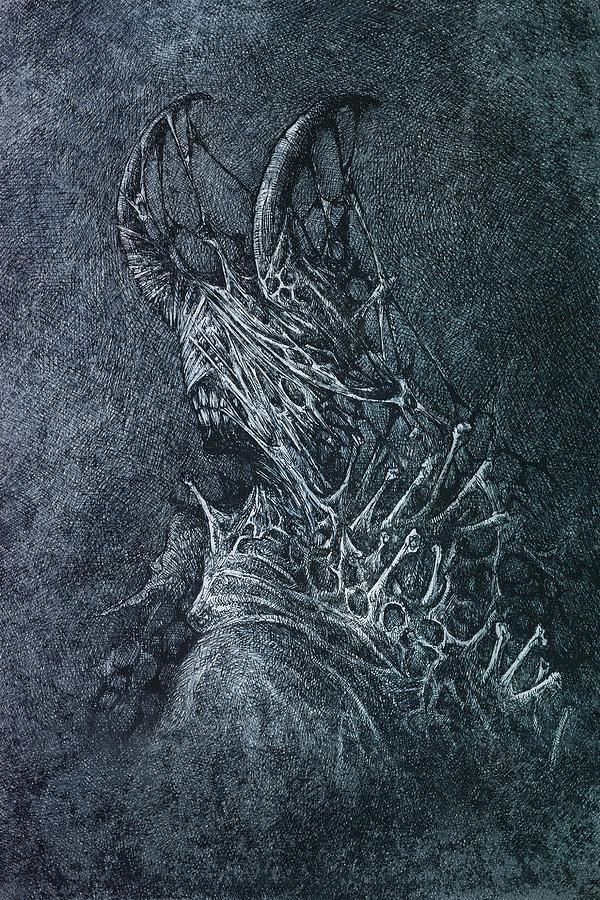 Devil Digital Art - The Devil by Maciej Kamuda