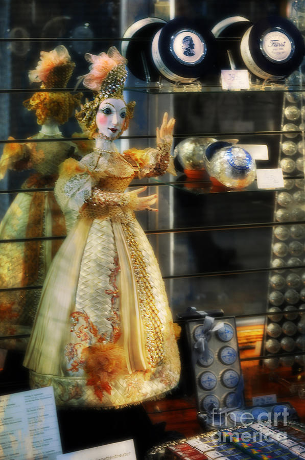Mozart Photograph - The Doll Salzburg by Mary Machare