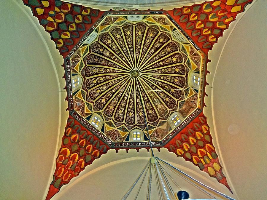 green photograph the dome decorative arts by necati cil - Decorative Art