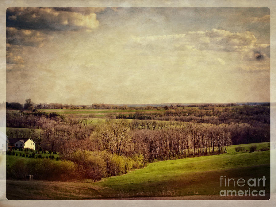Rolling Hills Photograph - The Driftless Zone by Mary Machare