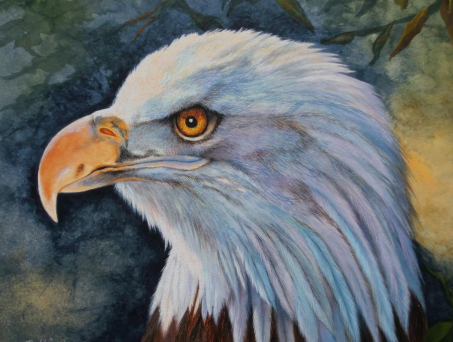 Animals Painting - The Eagle by Bobbie Harrington