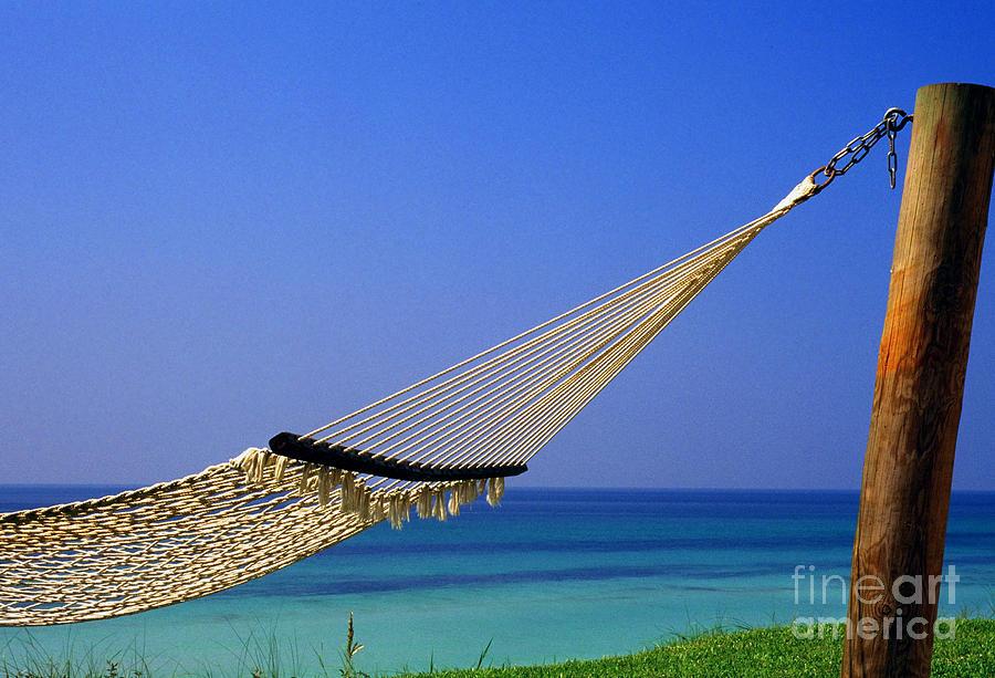 Hammock Photograph - The Emerald Coast by Thomas R Fletcher