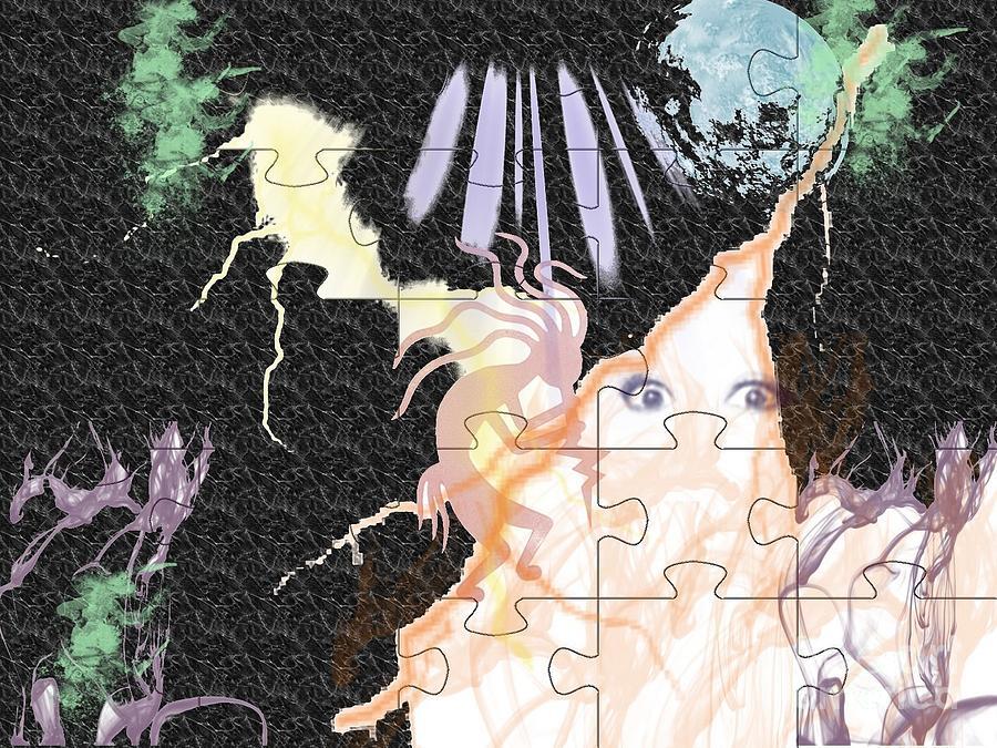 Fairy Digital Art - The Fairies Are Loose by Paula  Adams