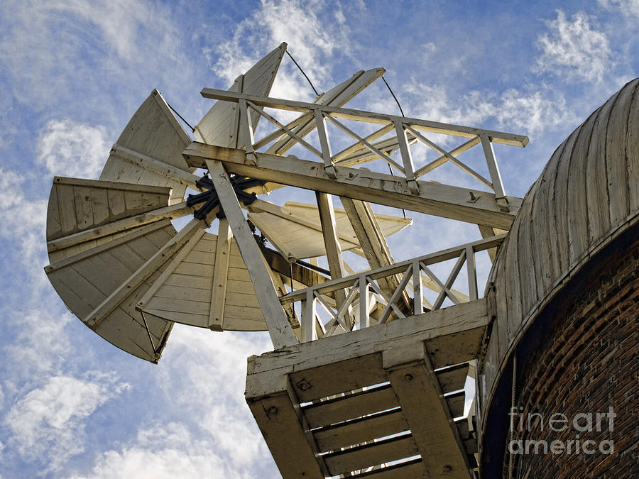 Mill Photograph - The Fantail by Steev Stamford