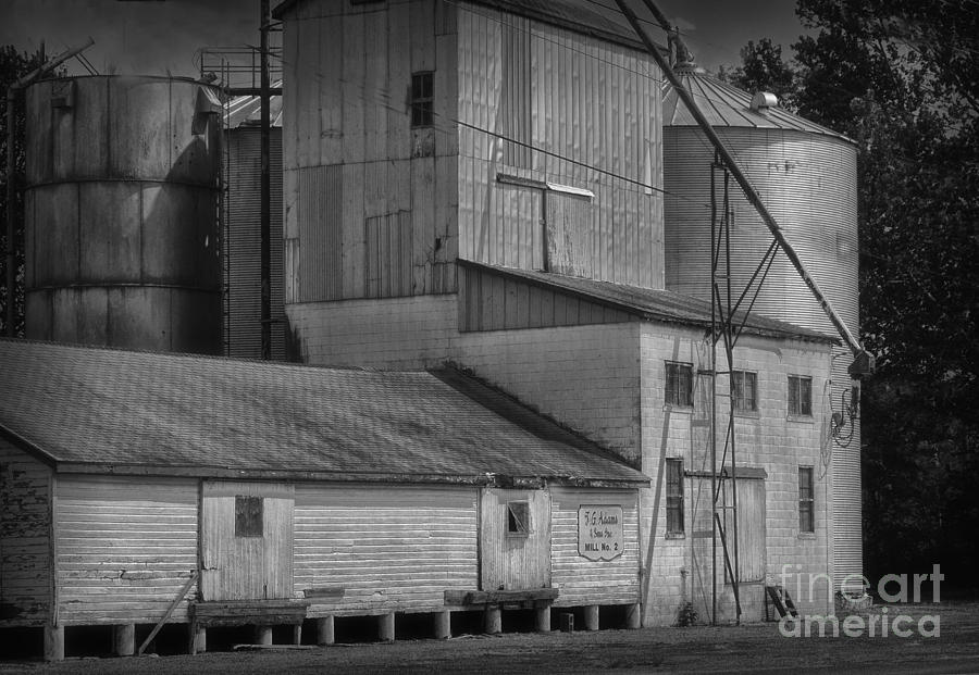 Old Photograph - The Feed Mill by Tamera James