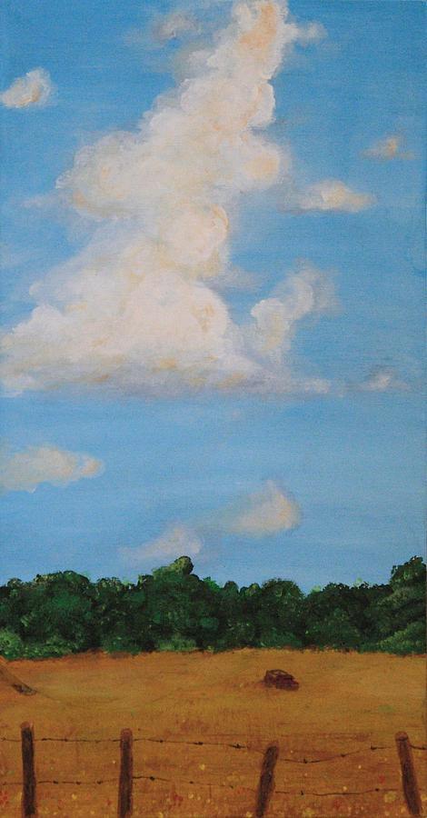 Field Painting - The Field by Jennifer Lynch