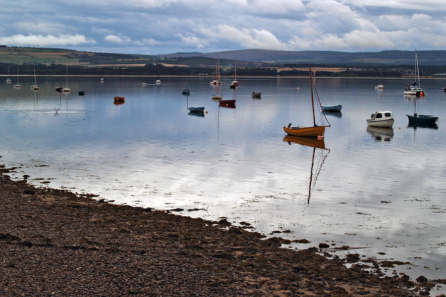 River Photograph - The Findhorn Estuary by Steve Watson