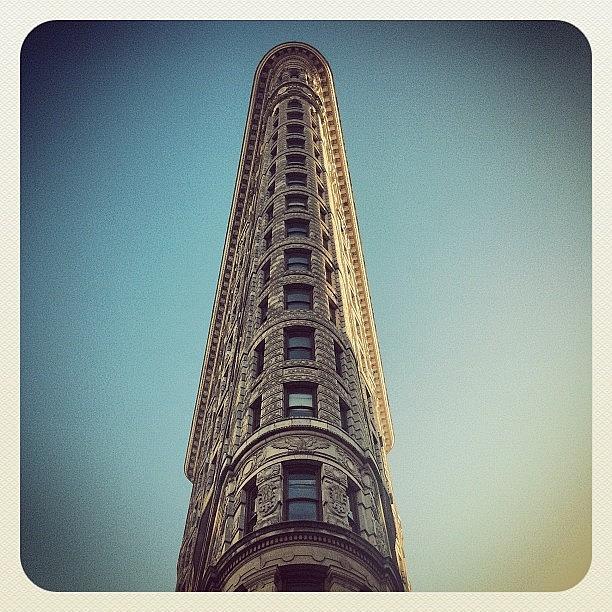 Nyc Photograph - The Flatiron Building. #nyc by Luke Kingma