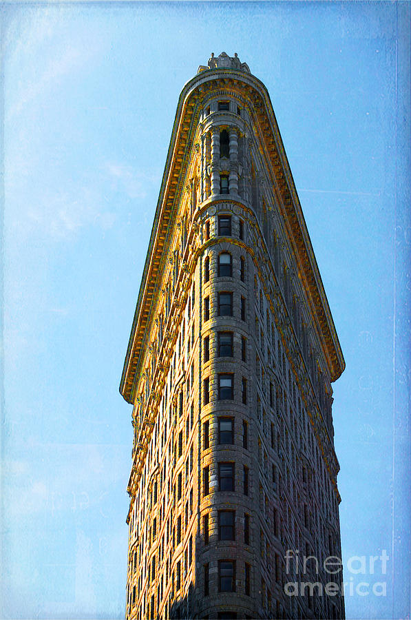 Flatiron Building Photograph - The Flatiron by Kim Fearheiley