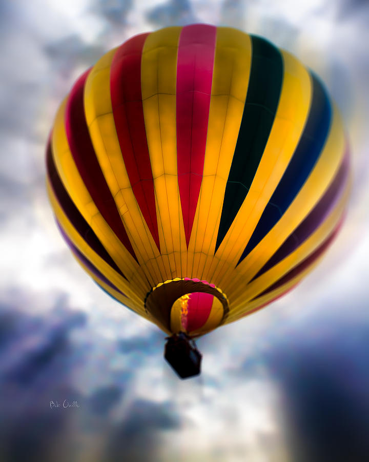 Hot Air Balloon Photograph - The Floating Dream by Bob Orsillo