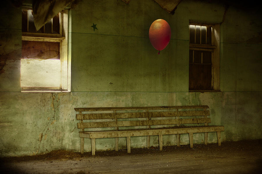 Balloon Photograph - The Forgotten Party  by Jerry Cordeiro