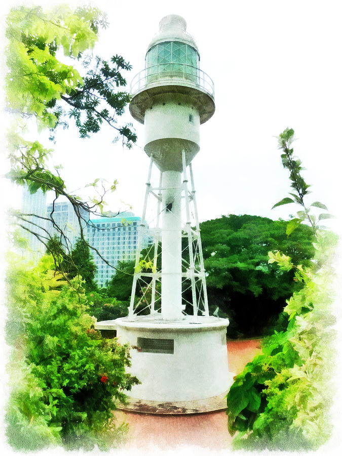 The Fort Canning Lighthouse Photograph