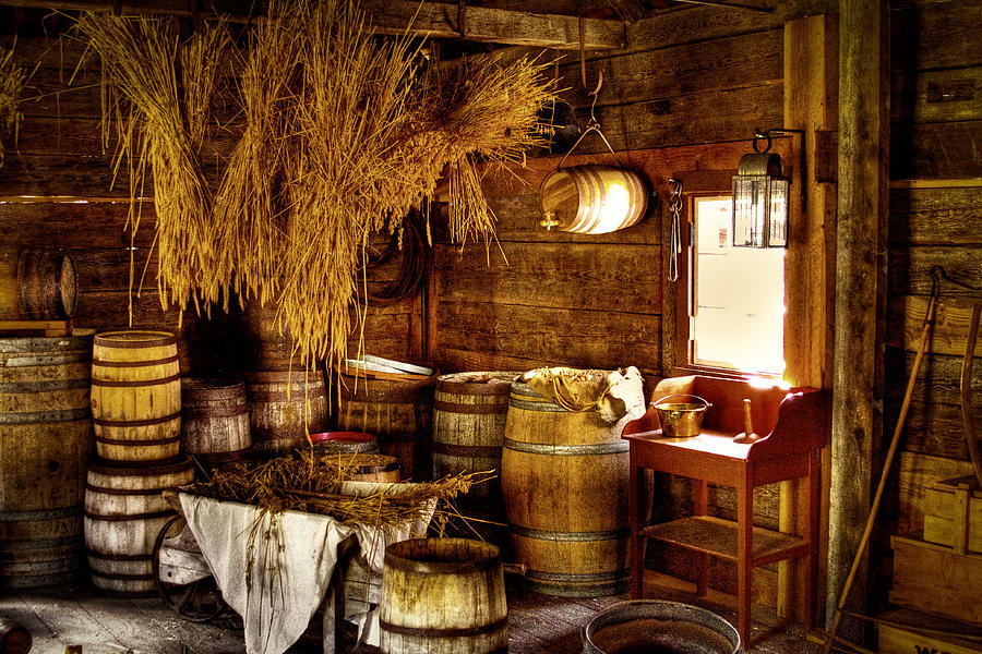 Fort Nisqually Photograph - The Fort Nisqually Granary by David Patterson