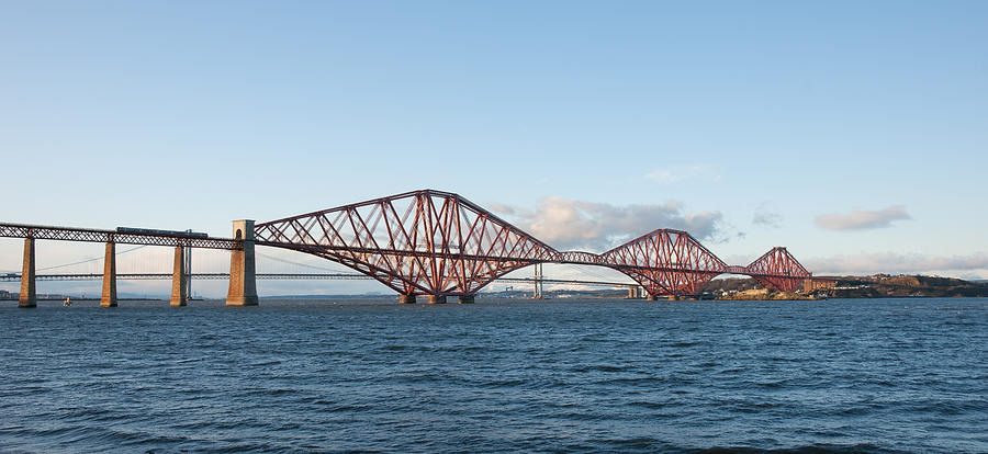 The Forth Bridges by Max Blinkhorn