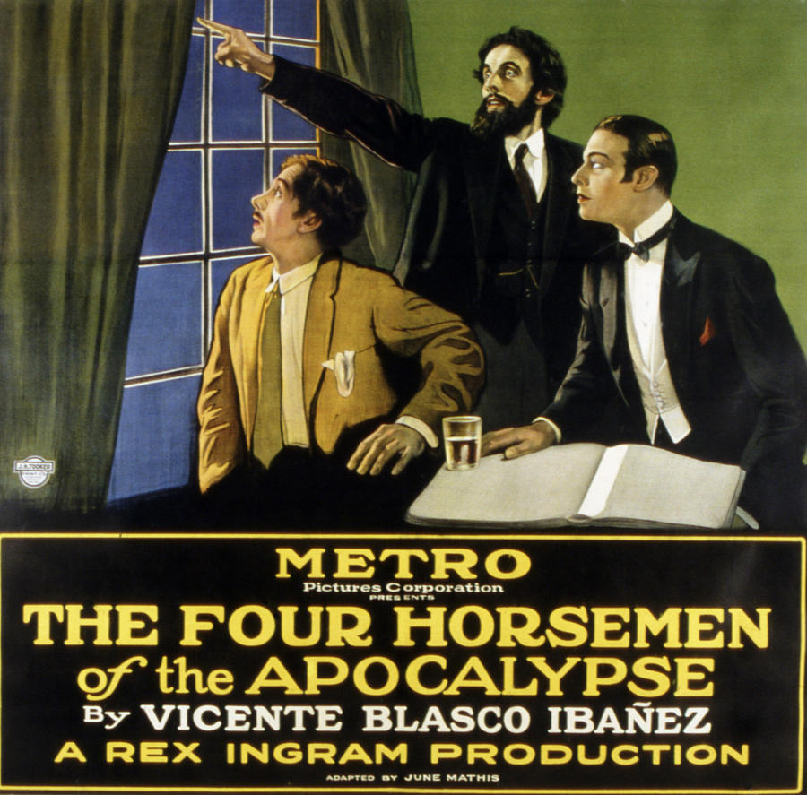 1920s Movies Photograph - The Four Horsemen Of The Apocalypse by Everett