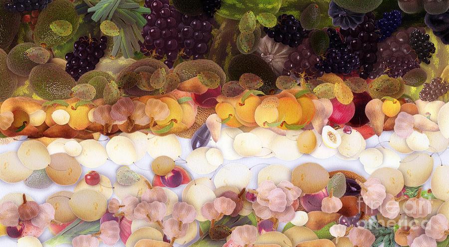 Odon Digital Art - The Fruit by Odon Czintos