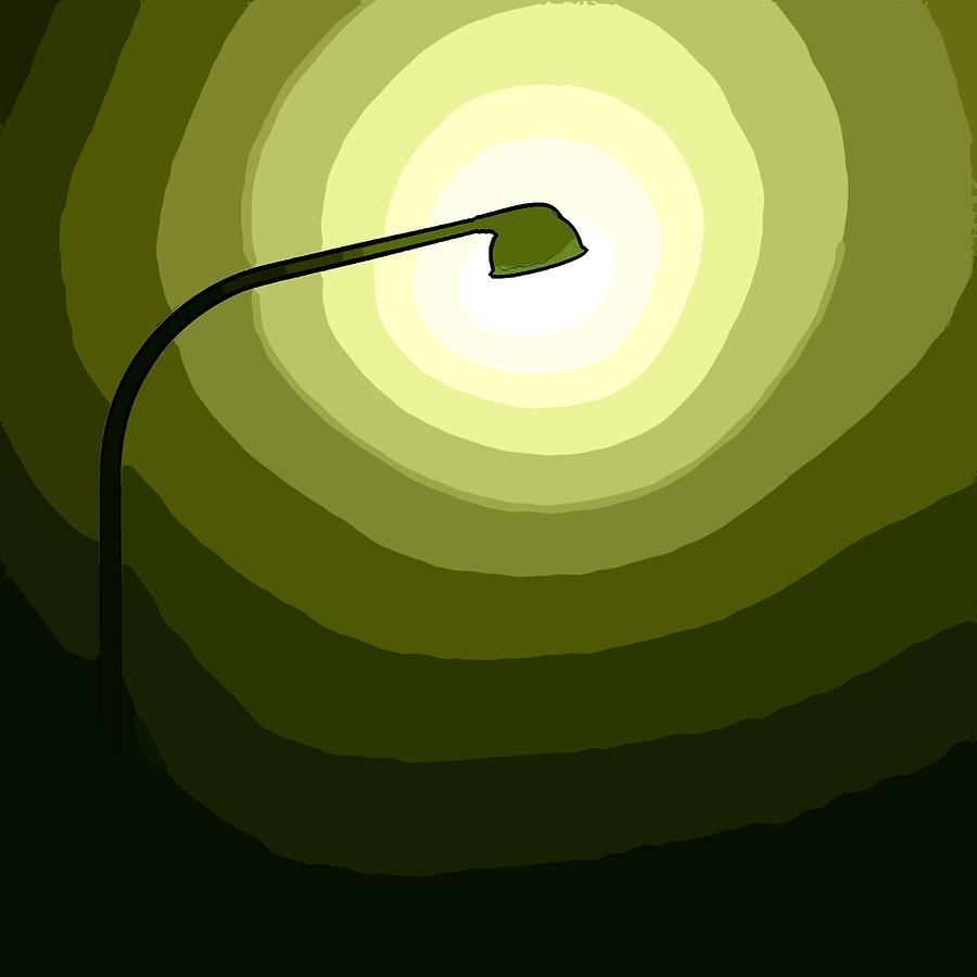 The Future Is Green Digital Art by Steve K