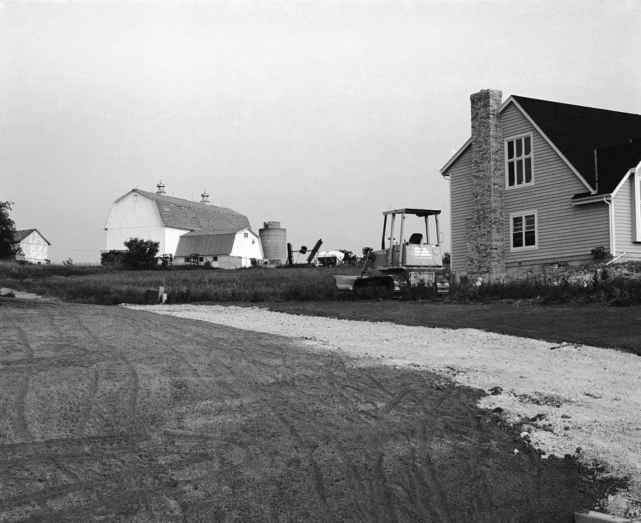 Wisconsin Photograph - The Future Of Farms Near Chicago by Jan W Faul