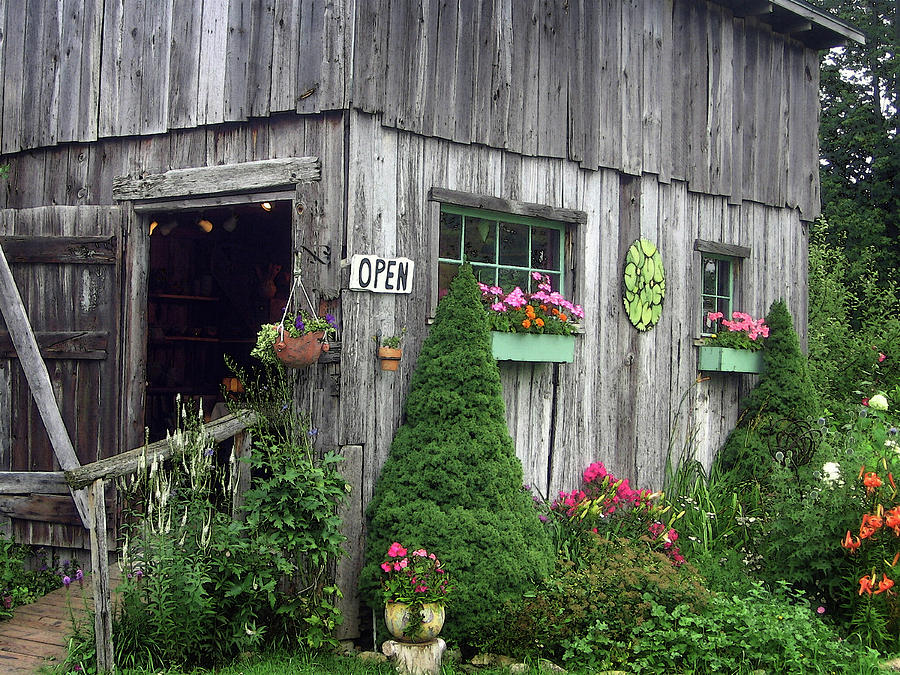 Garden Shed Photograph - The Garden Shed by J R Baldini M Photog Cr