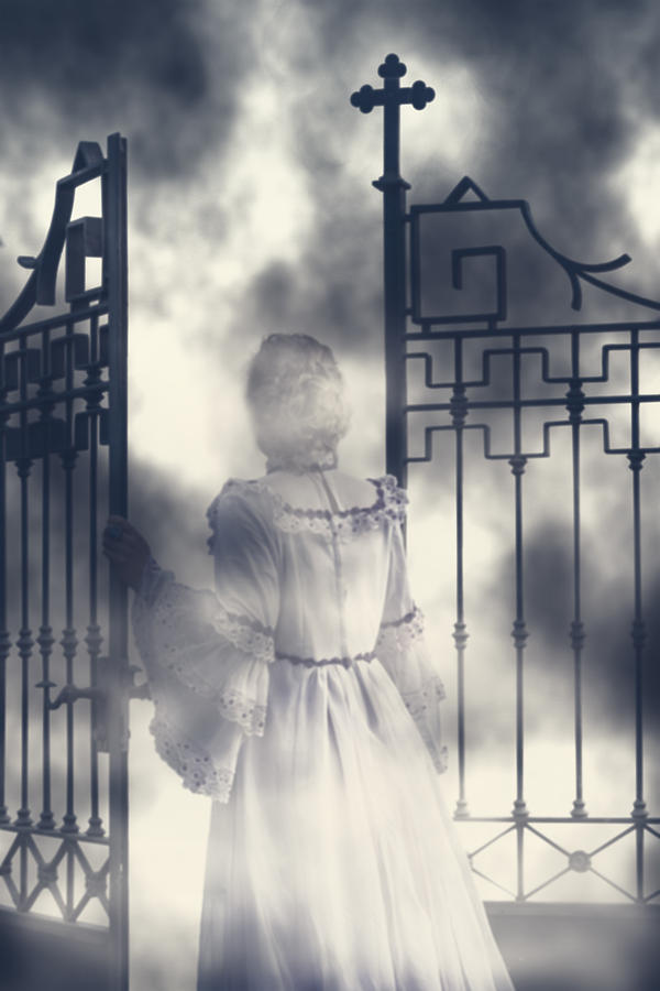 Woman Photograph - The Gate by Joana Kruse