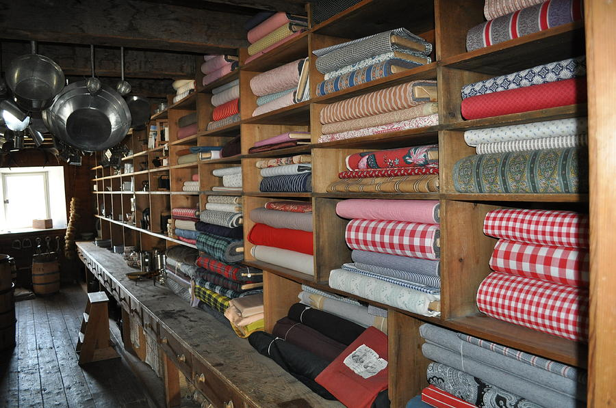 Linen Photograph - The General Store by Daryl Macintyre
