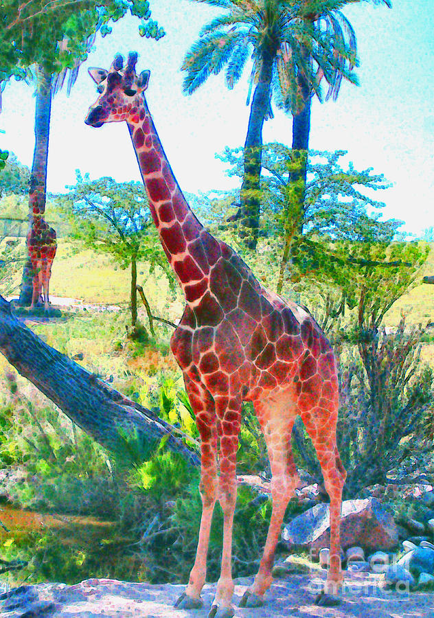 The Gentle Giraffe by Elinor Mavor