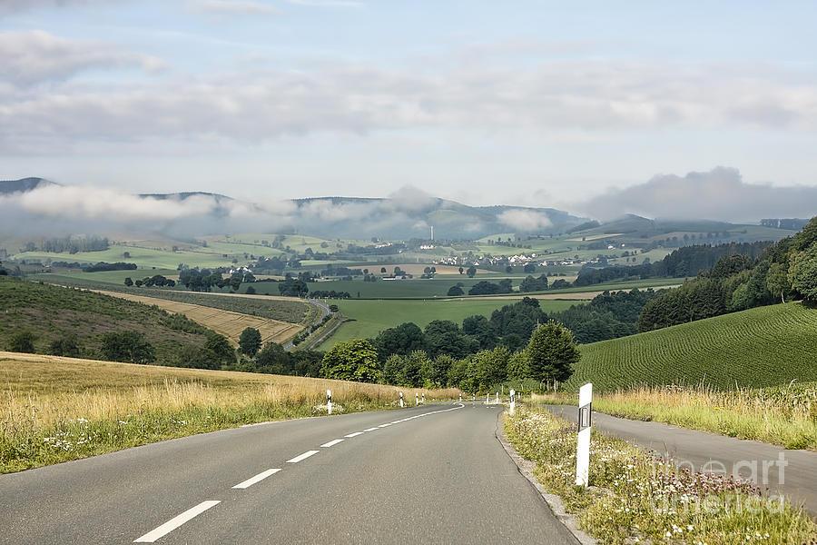 The German Highway Photograph by Randy Kostichka