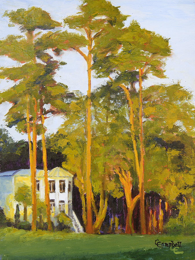 Landscape Painting - The Giants by Cecelia Campbell