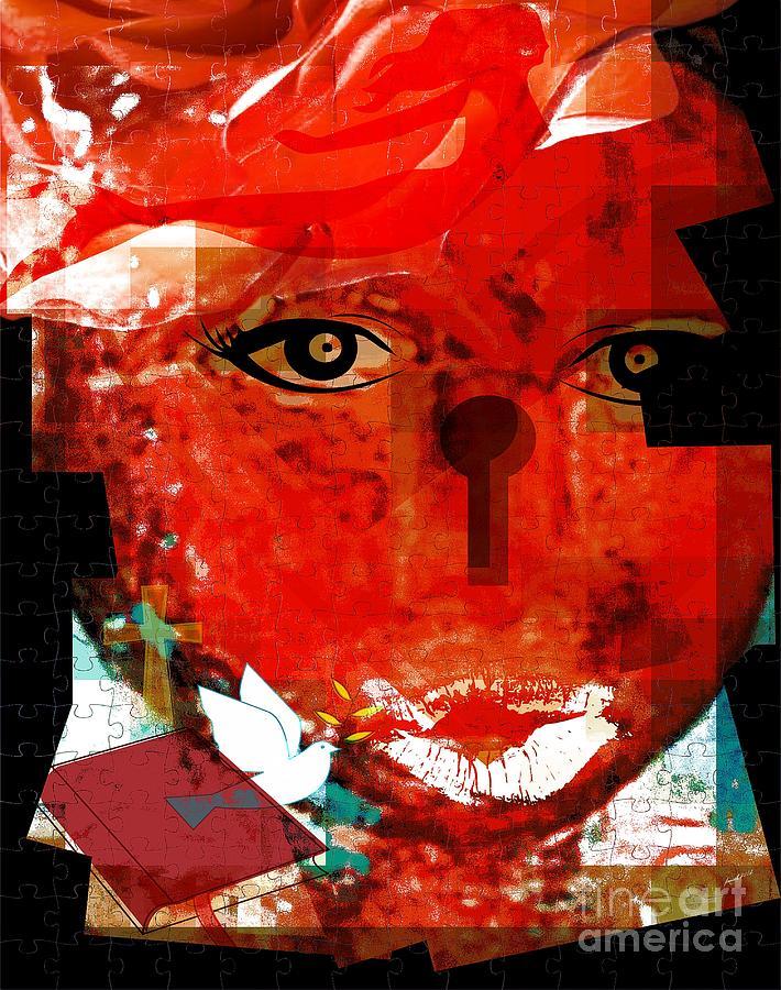 Faniart Mixed Media - The Gift Of Spirit by Fania Simon