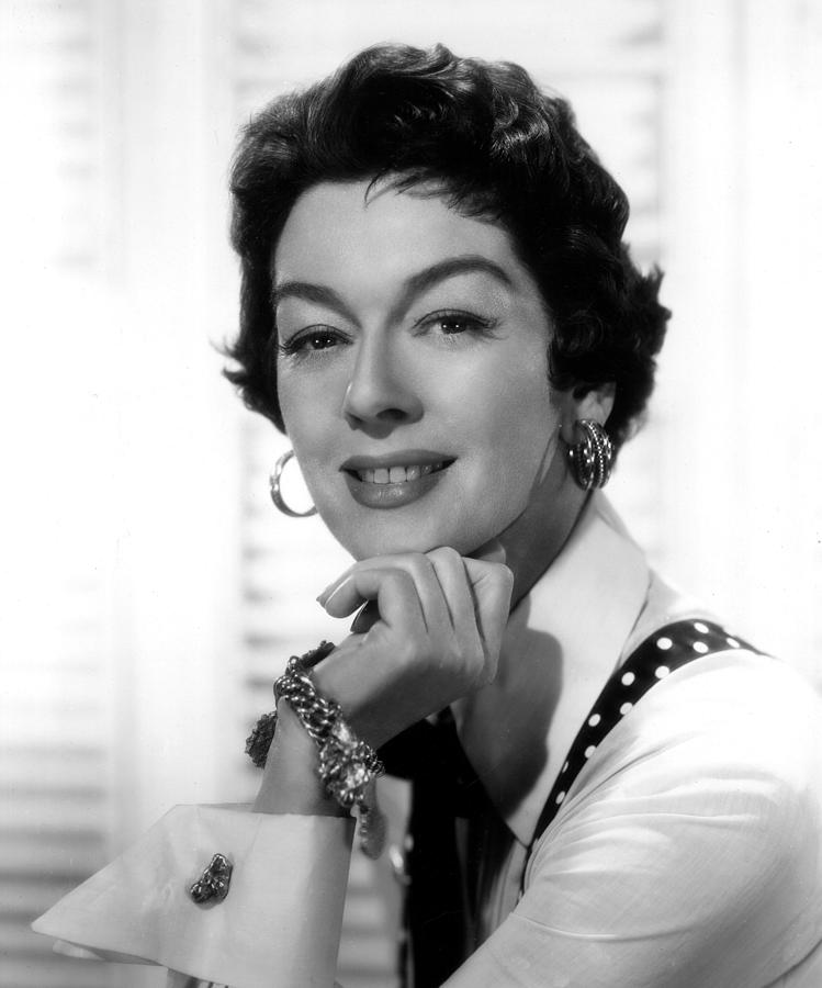 1955 Movies Photograph - The Girl Rush, Rosalind Russell, 1955 by Everett