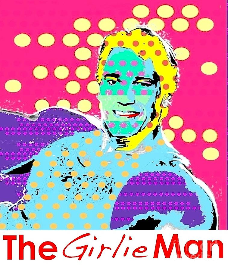 Arnold Schwarzenegger Digital Art - The Girlie Man by Ricky Sencion