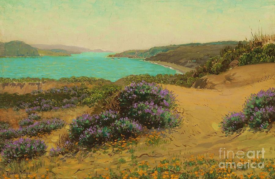 Pd Painting - The Golden Gate Of San Francisco by Pg Reproductions