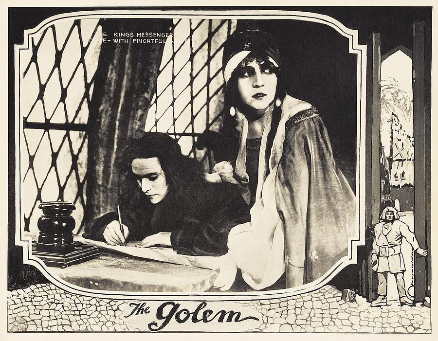 1920 Movies Photograph - The Golem, Aka Der Golem, Wie Er In Die by Everett