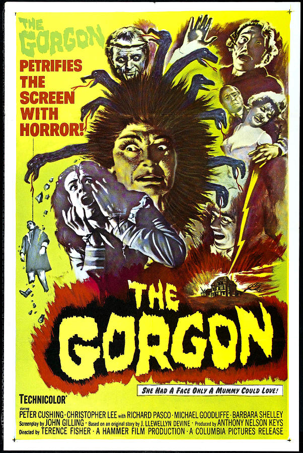 1964 Movies Photograph - The Gorgon, Prudence Hyman by Everett