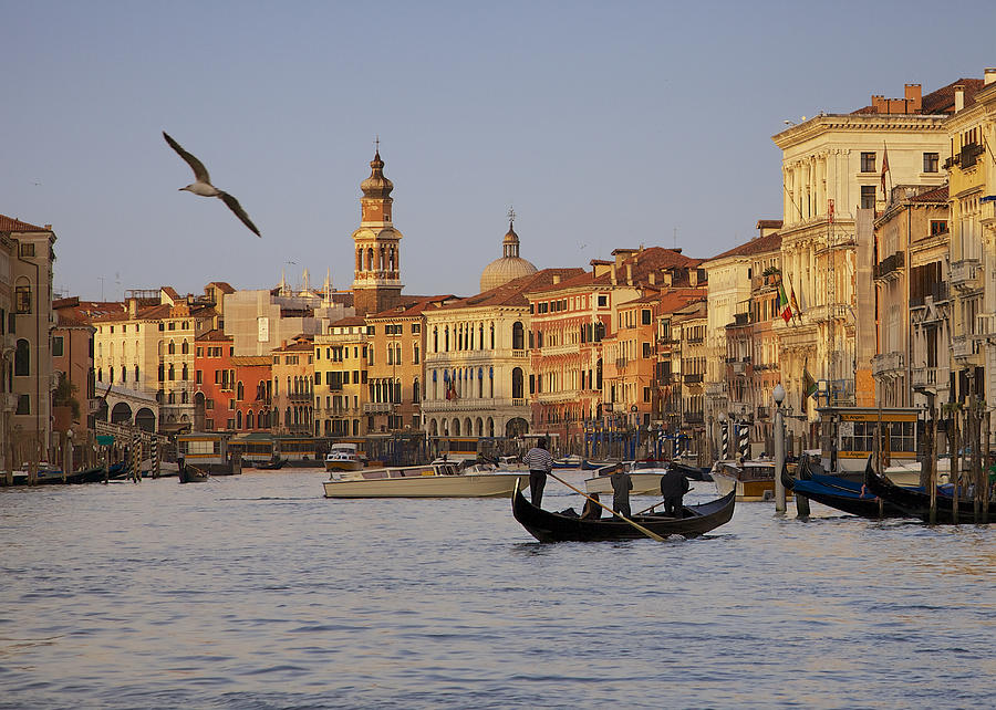 Venice Photograph - The Grand Canal by Daniel Sands