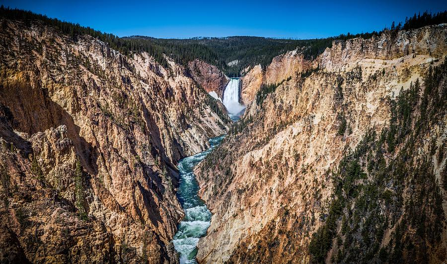 The Grand Canyon Of Yellowstone Photograph - The Grand Canyon Of Yellowstone by Brad Boserup