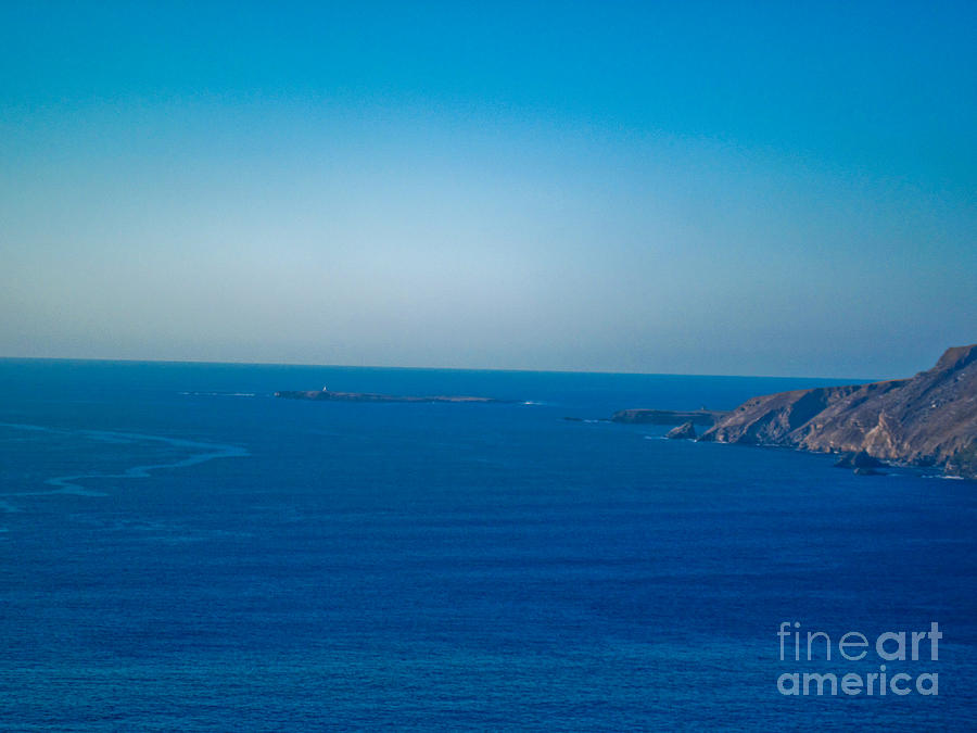Slieve League Photograph - The Great Atlantic At Slieve League by Black Sun Forge