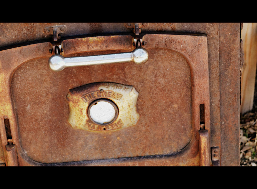 Old Stove Photograph - The Great Majestic by Diane montana Jansson