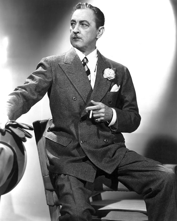 The Great Profile, John Barrymore, 1940 Photograph by Everett