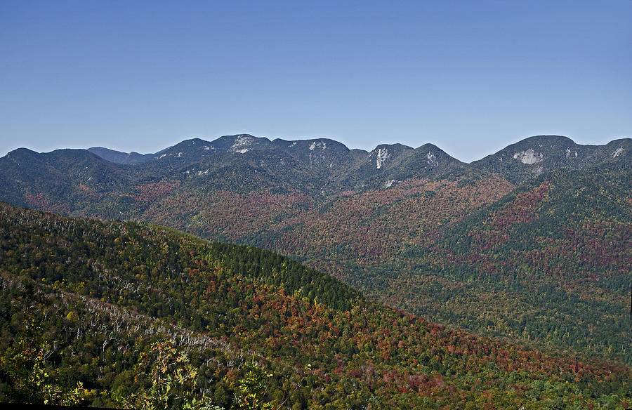 Great Range Photograph - The Great Range Of The Adirondack Mountains - New York by Brendan Reals