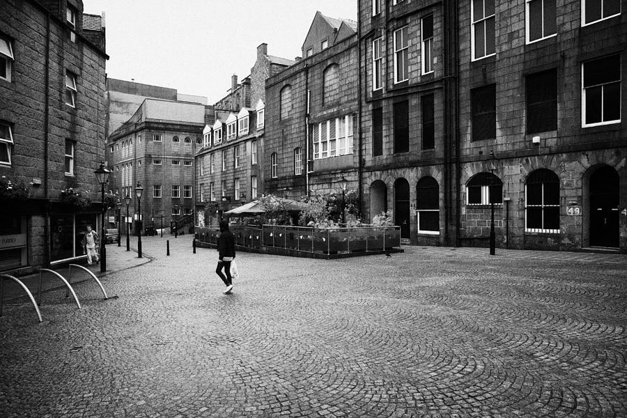 The Green Photograph - The Green Aberdeen Old Town City Centre Scotland Uk by Joe Fox