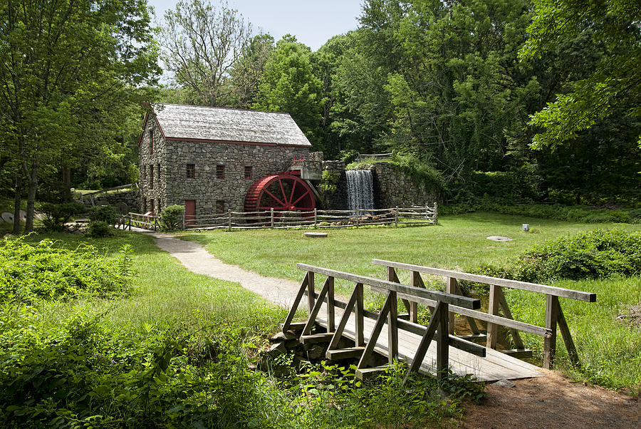 Grist Mill Photograph - The Grist Mill by Lee Fortier