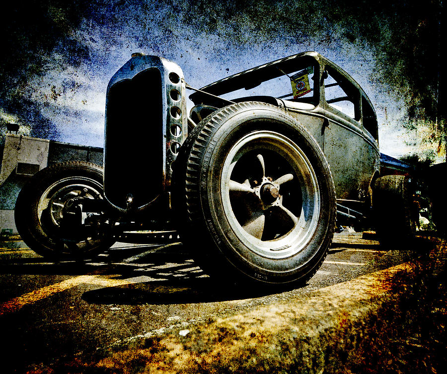 Hot Rod Photograph - The Grunge Rod by Phil motography Clark