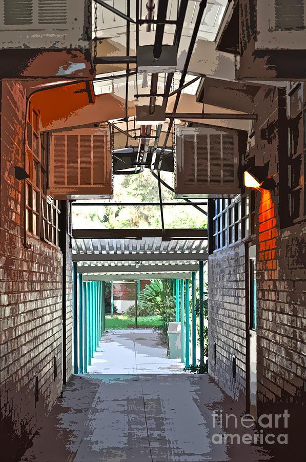 Hallway Photograph - The Hallway by Gwyn Newcombe