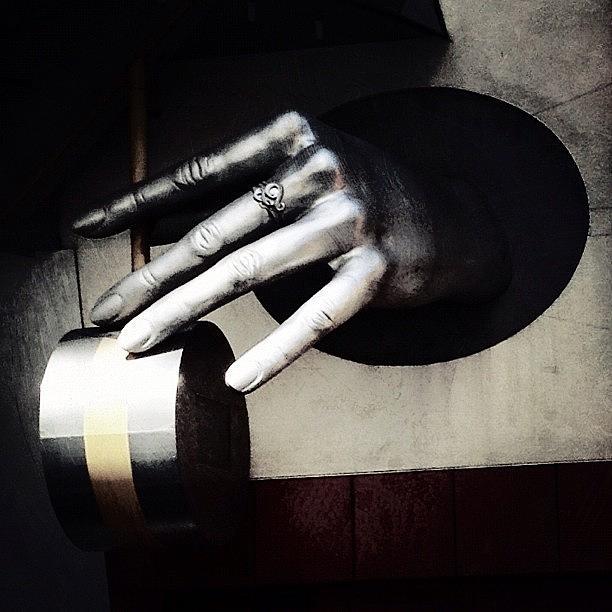 Museum Photograph - The Hand by Natasha Marco