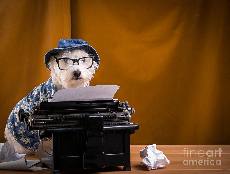 Author Photograph - The Hard Boiled Journalist by Edward Fielding
