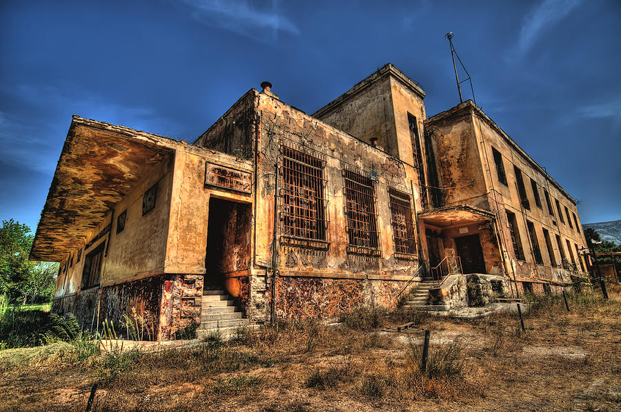 Athens Photograph - The Haunted Factory by Stamatis Gr
