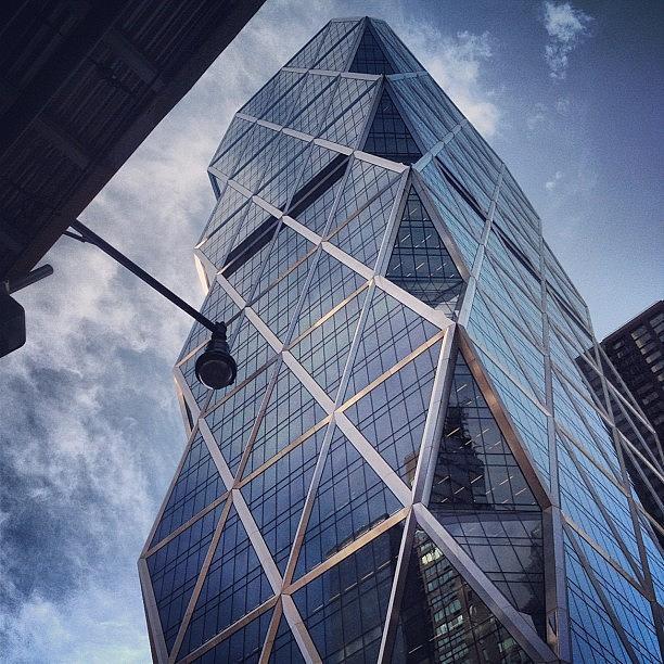 Summer Photograph - The Hearst Building by Randy Lemoine